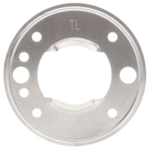 10 Series, Bracket Mount, 2-1/2 in Diameter Lights, Used In Round Shape Lights, Silver Stainless Steel, 2 Screw Bracket Mount